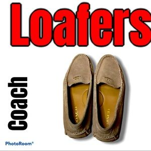 Coach amber driving loafers